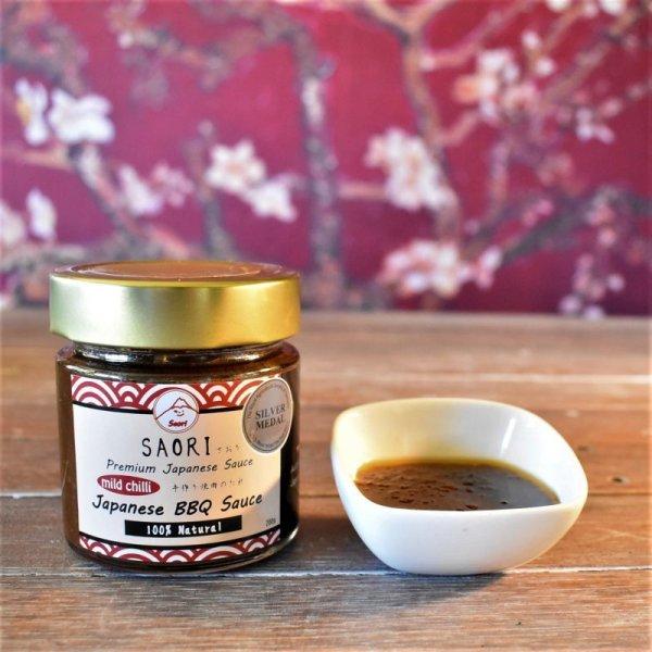Photo1: SAORI Japanese BBQ Sauce (mild chilli)  (1)